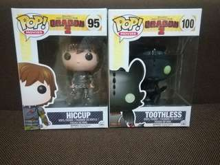 Funko POP! Toothless and Hiccup