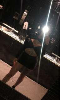 Black pretty little thing dress