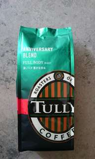 Tully's Coffee 咖啡豆