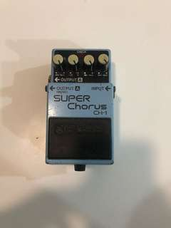 BOSS CH-1 Chorus pedal price reduced!