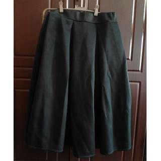 Black Box Pleat Midi Skirt