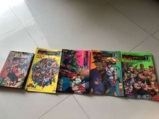 Street Fighter Zero 2  (HK comic)