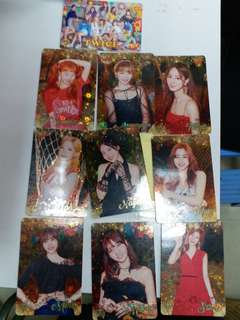 Twice Yes Card 38期 夜光+閃卡set