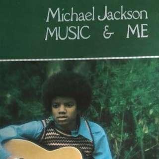 Michael Jackson vinyl Lp record