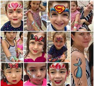Professional Quality Face painting lala face painter