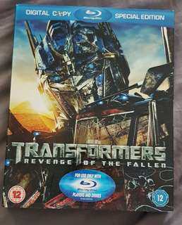 Transformers Revenge of the Fallen Special Edition Blu-ray