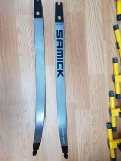 "USED SAMICK MASTERS Archery Limbs - 70""36#"