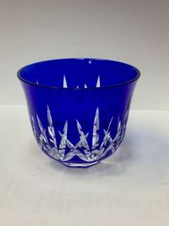 [P]藍寶石切子茶碗套裝