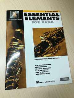 Essential elements for band clarinet