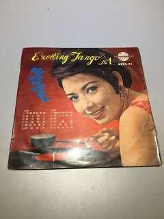 陶醉的探戈黑膠唱片早期黑膠唱片 早期唱片 黑膠唱片 老唱片 裝置藝術 造型背景