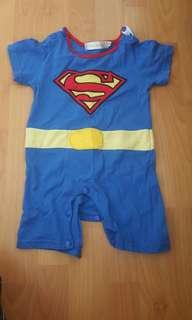 Superman Romper 2-3 years old