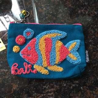 Bali 魚仔coins Bag