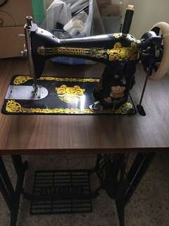 Sewing machine spoilt