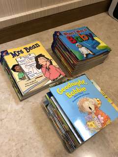 Rigby Rocket and Literacy storybooks whole set