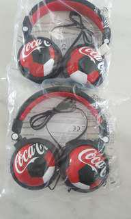 Coca Cola limited Edition Earphones