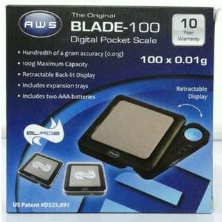 AWS BL-1KG Pocket Digital Scale 1000g X 0.1g Weighing