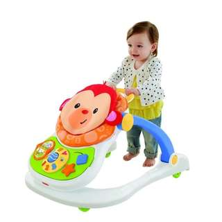 Fisher-Price 4 in 1 Monkey Entertainer Baby Walker