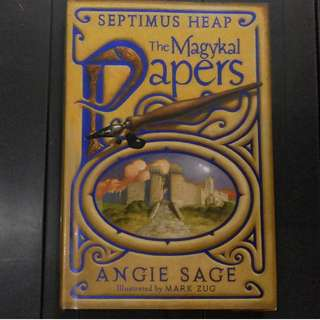 HB Septimus Heap: The Magykal Papers