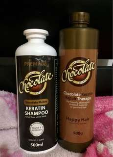 Chocolate Keratin (Shampoo & Conditioner)
