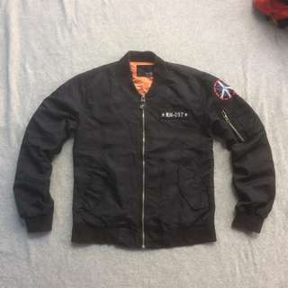 SHEAN JACKET FLYERS MAN M1 US ARMY AIR FORCE BOMBER