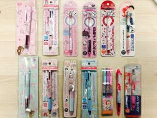 Sanrio & Disney collaboration Pens & Pencils - Assorted