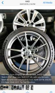 Used HRE wheel (MERCEDES W205)