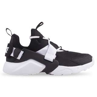 Brand New in Box: Authentic Nike Air Huarache City Low Shoes (Black & White) FREE POSTAGE