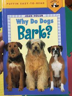 Why Do Dogs Bark? (Reading Level 3)
