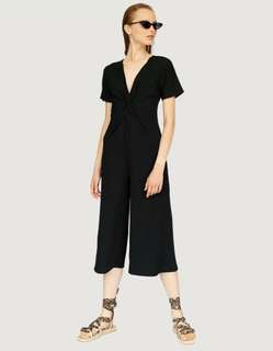 STRADIVARIUS Culotte jumpsuit with knot