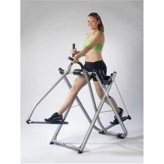 Alat Olahraga Fitness Multifungsi Big Air Walker Crosstriner Free Style Glider