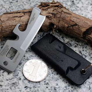 Timberline EDC Survival Knife Multifunction Tool - Black