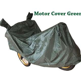 Green Motorcycle Cover Waterproof and Heatproof Motor cover