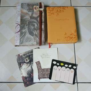 Budget holder, notebook and stationaries
