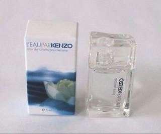 Miniatur Parfum Kenzo Leau Par Pour Femme 5ml EDT