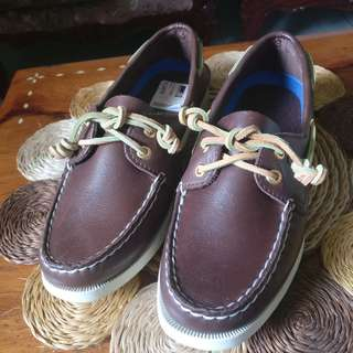 Authentic Sperry Genuine Leather Women's Boat Shoes