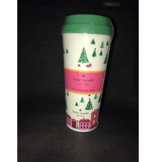 [Clearance] Kate Spade New York Thermal Mug, Holiday Village, , Multi GSS Great Singapore Sale