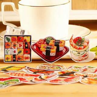(Instock) Sushi Party Stickers