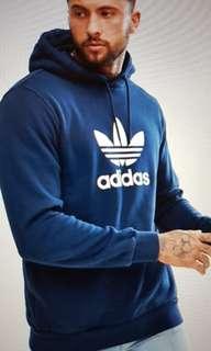 Adidas Originals Hoodie with Treefoil Logo