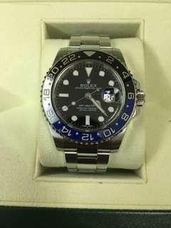 勞力士ROLEX 116710BLNR 藍黑GMT