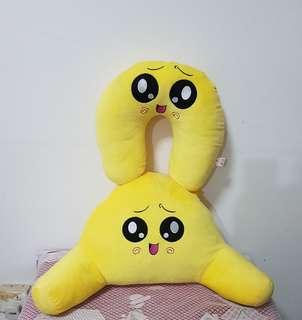 Cute Emoji Neck/Lumbar Rest