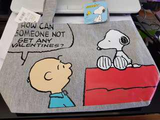 Snoopy Tote Lunch Bag