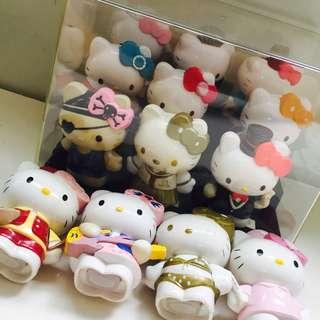 🚚 Hello Kitty 公仔附透明展示盒