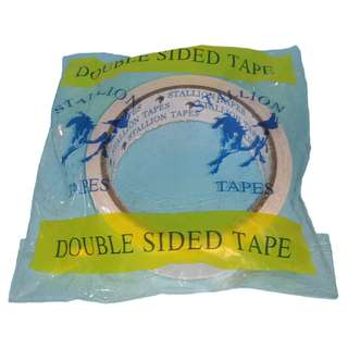 "DOUBLE SIDED TAPE 1"" x 10 yards"