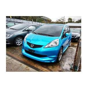 2008年 本田 FIT   藍 ✅0頭款 ✅免保人✅低利率✅低月付 FB搜尋:阿源 嚴選二手車/中古車買賣