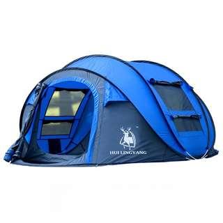 Tenda Camping Windproof Waterproof - Blue