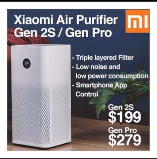 🚚 2018 Xiaomi Air purifier 2S OLED  Anti bacteria Fliter Formaldehyde Fliter