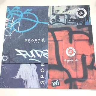 《Sport b. Paris》 Box Set 4本薄(絕版Limited edition) 每本32頁