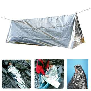 Tenda Camping Emergency - Silver