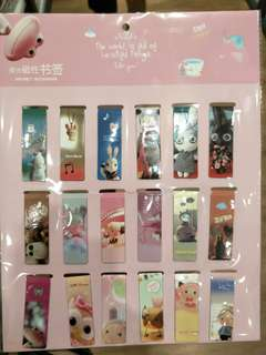 Magnet bookmark (1) 18pcs
