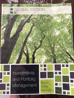 Investments and portfolio management (Bodie Kane Marcus)
